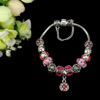 ARINLA Elegant Flowers Braclet Jewelry in Women's Bangle Bracelets