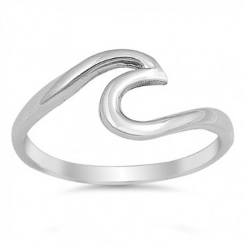 Sterling Silver Wave Ring - CP12GTVPGK9