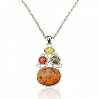 SUMAJU Pendant Necklace Artifical Colorful in Women's Pendants