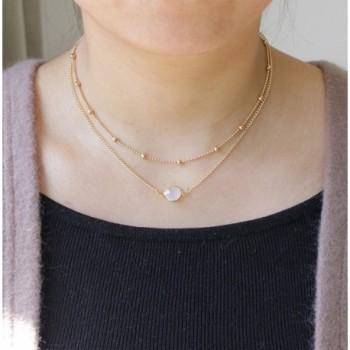 Layered Pendant Necklaces Jewelry Defiro in Women's Pendants
