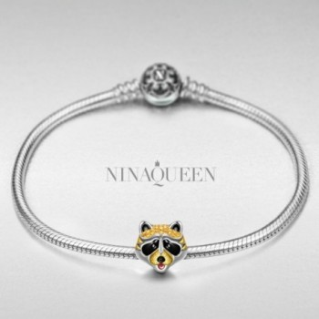 NinaQueen Cubic Zirconia Bracelets Anniversary Christmas in Women's Charms & Charm Bracelets