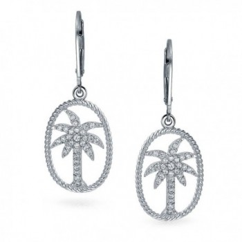 Bling Jewelry Sterling Leverback Earrings