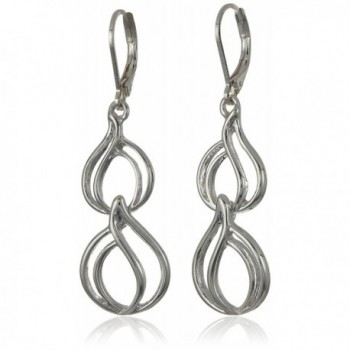 Napier Silver-Tone Double Drop Earrings - CQ1856HLN6Y