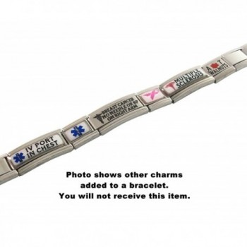 Survivor Medical Italian Bracelet Awareness