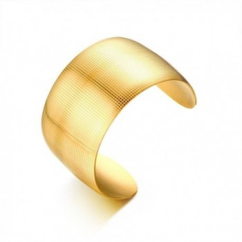 Fashion Plated Stainless Bracelet Diameter