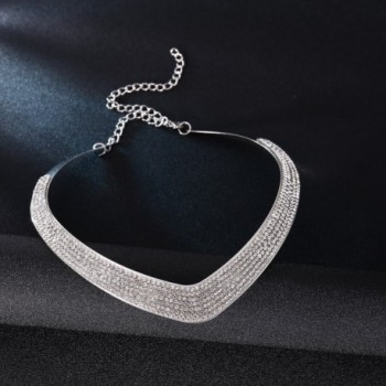 Wedding Jewelry Crystal Necklace Statement