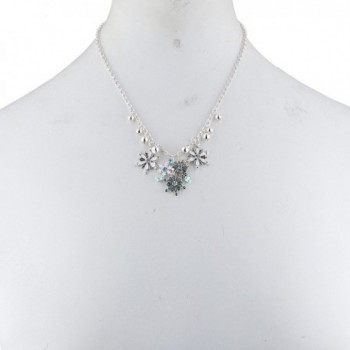 Lux Accessories Silvertone Christmas Snowflake