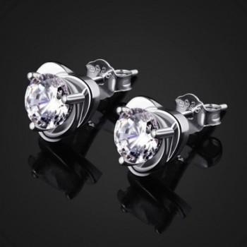 B Catcher Sterling Zirconia Earrings Valentines