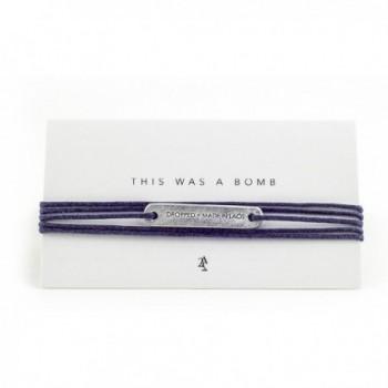 Peacebomb Story Tag Wrap Bracelet - CR1832RQMOM
