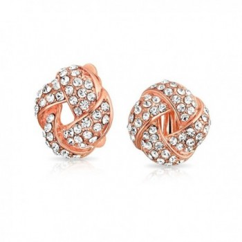 Bling Jewelry Crystal Earrings Plated