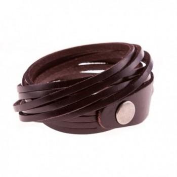 True Heart Style Multi strand Chocolate