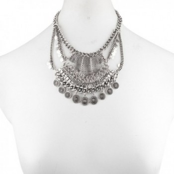Lux Accessories Western Statement Necklace