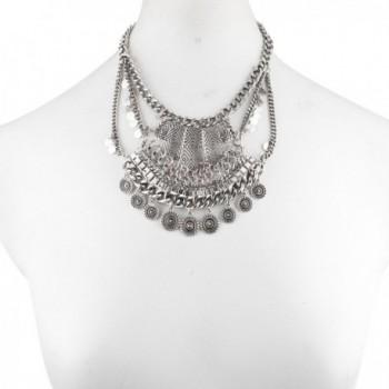 Lux Accessories Western Statement Necklace