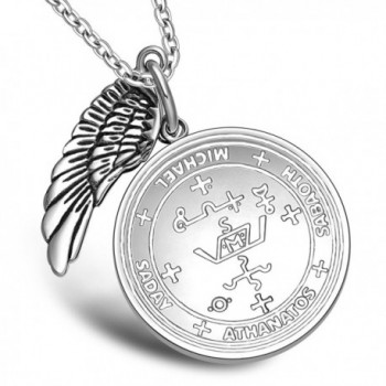 Archangel Michael Amulet Pendant Necklace