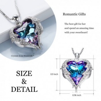 Necklaces Romantic Swarovski Necklace Birthday in Women's Pendants