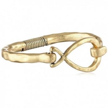 The SAK Twist Spring Bangle Bracelet - Gold - C511Z10CTYV