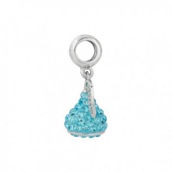 Hersheys Kisses Womens Sterling Crystal