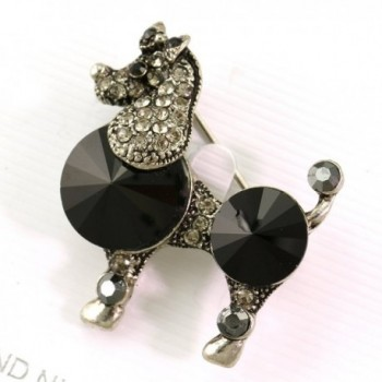 Vintage Design Poodle Brooch Jewelry in Women's Brooches & Pins