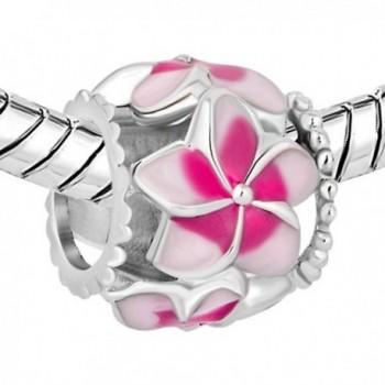 CharmSStory Filigree Orchid Flower Bracelets