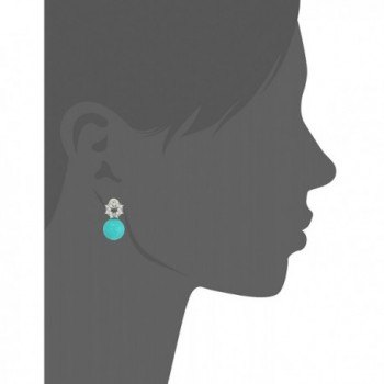 Collection Robin Simulated Zirconia Earrings