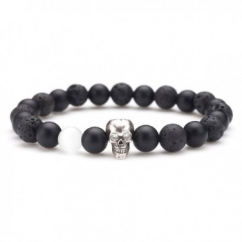 Karseer Bracelet Decorate Personality Birthday - Antique Silver Skull Hiphop - CT187OTQGKL