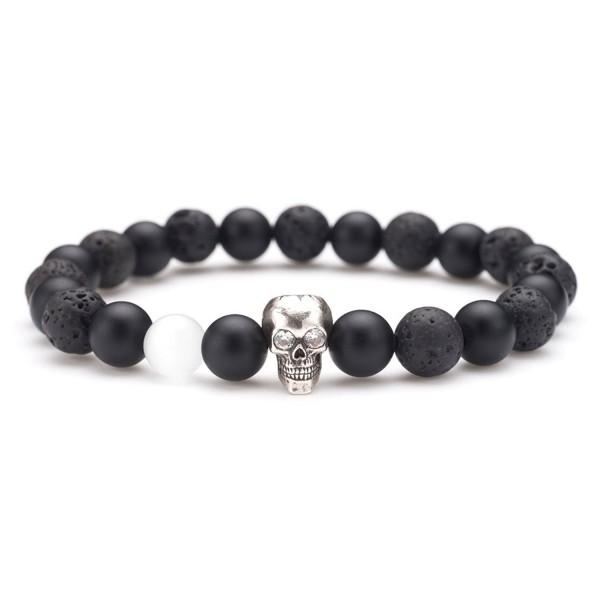 Karseer Bracelet Decorate Personality Birthday - Antique Silver Skull Hiphop - CT187OTQGKL