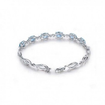 Zirconia Gemstone Bracelets Crystal Bracelet in Women's Tennis Bracelets