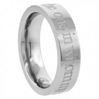Surgical Steel FOUND DELIGHTS Comfort Fit in Women's Band Rings