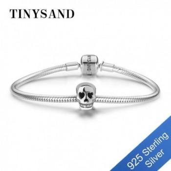 TINYSAND Jewelry Sterling Zirconia Bracelets in Women's Charms & Charm Bracelets