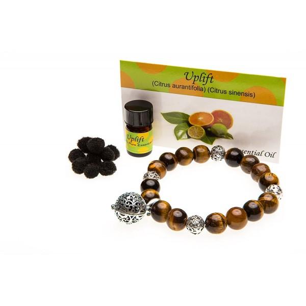 Essential Diffuser Aromatherapy Bracelet Jewelry - C211X9CUEW7