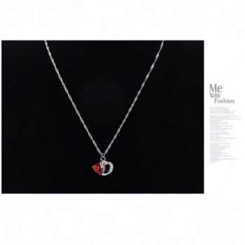Diamond Statement Pendant Necklace Swarovski in Women's Strand Necklaces