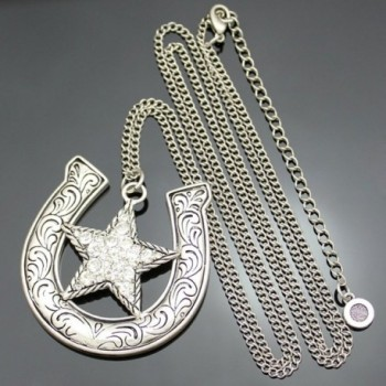 Fashion Western Cowgirl Shooting Necklace in Women's Pendants