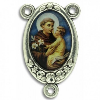 LOT of 5 - St Anthony Rosary Center Piece Color Image. 1 Inch - C5121WR73X3