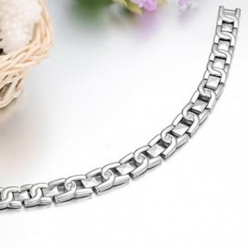 Titanium Magnetic Therapy Germanium Bracelet in Women's Link Bracelets