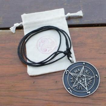Pendant Necklace Samael Baphomet Adjustable