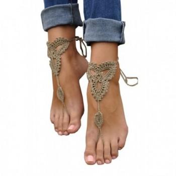 Cougars Handmade Jewelry Barefoot Sandals