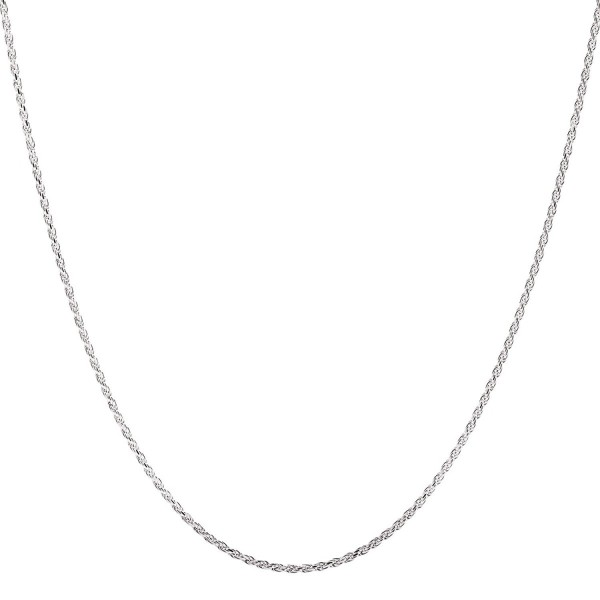 925 Sterling Silver Rope Chain 1.5MM-3.5MM 16-36 Inch - Style-2MM - CG128M51MOT