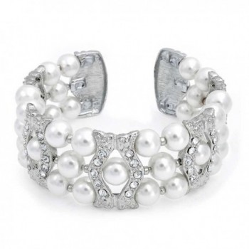 Bling Jewelry Simulated Crystal Bracelet in Women's Cuff Bracelets