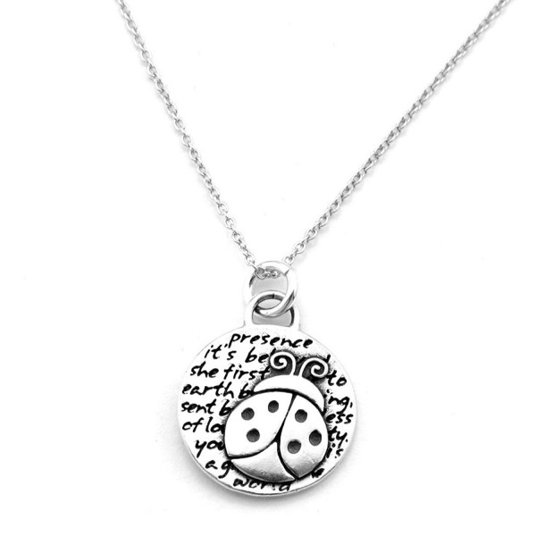 Kevin N Anna Inspirational Sterling Silver Animal Pendant Necklace - CQ12NA8XGMC