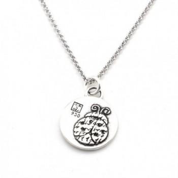 Animals Inspirations Pendant Necklace Ladybug