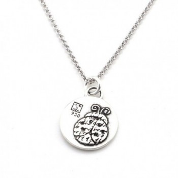 Animals Inspirations Pendant Necklace Ladybug in Women's Pendants