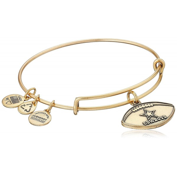 Dallas Cowboys Football Expandable Bangle Bracelet Rafaelian Gold C411wuwdq0j