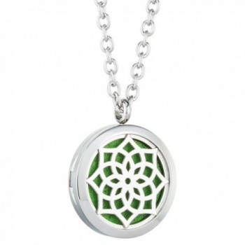 Aromatherapy Essential Oil Diffuser Necklace - sunflower - C212GBZZCJN