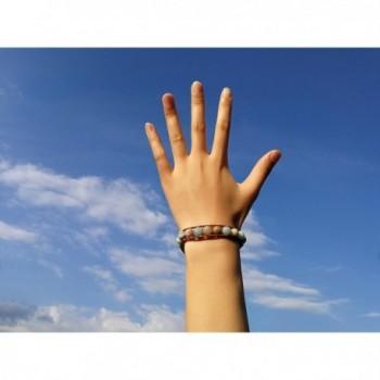 Natural Amazonite Bracelet Handmade Adjustable