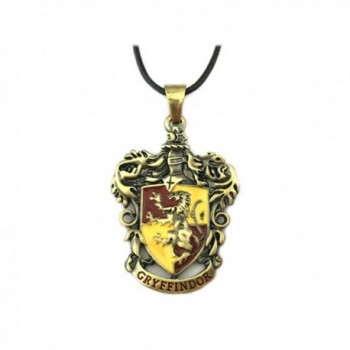 Harry Potter Gryffindor Movie Book Pendant Necklace With Gift Box from Outlander Gear - C6189507IQX