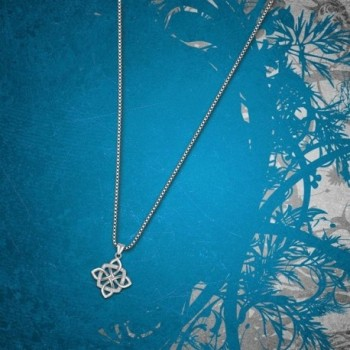 Sterling Silver Vintage Pendant Necklace in Women's Pendants