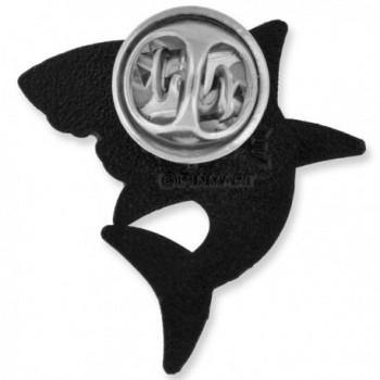 PinMarts Shark Ocean Animal Enamel in Women's Brooches & Pins
