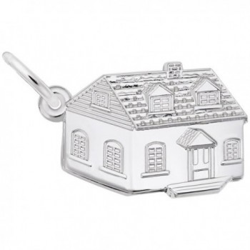 House Charm- Charms for Bracelets and Necklaces - CV115J7GE9R