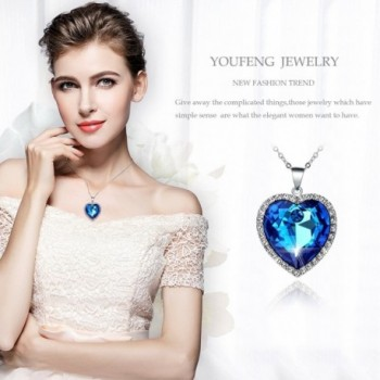 Crystal Pendant Necklace Jewelry necklace in Women's Pendants