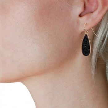 Humble Chic Simulated Druzy Dangles in Women's Drop & Dangle Earrings